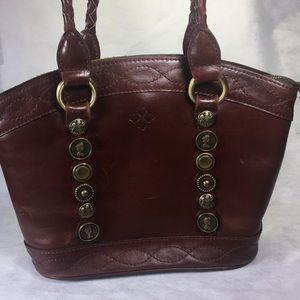 Patricia Nash Renaissance Coin Zorita Leather bag